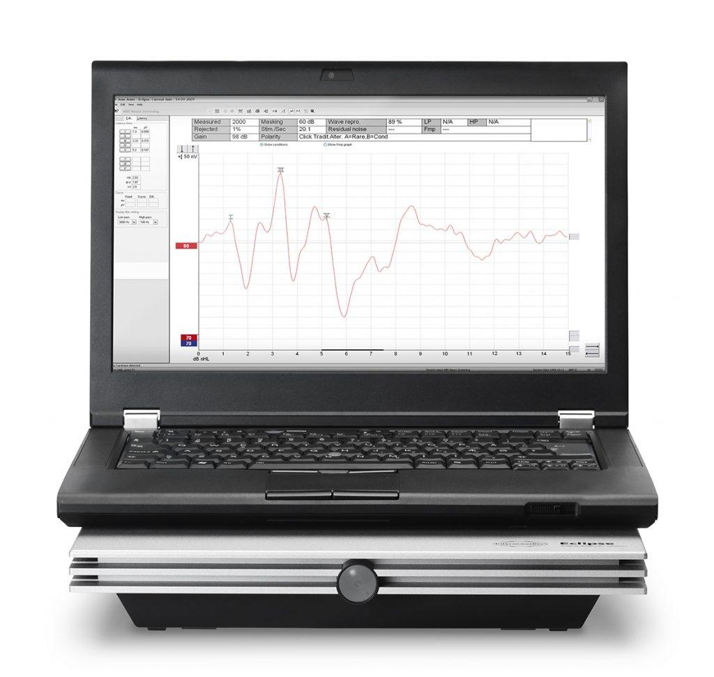 Система регистрации слуховых вызванных потенциалов и отоакустической эмиссии Eclipse