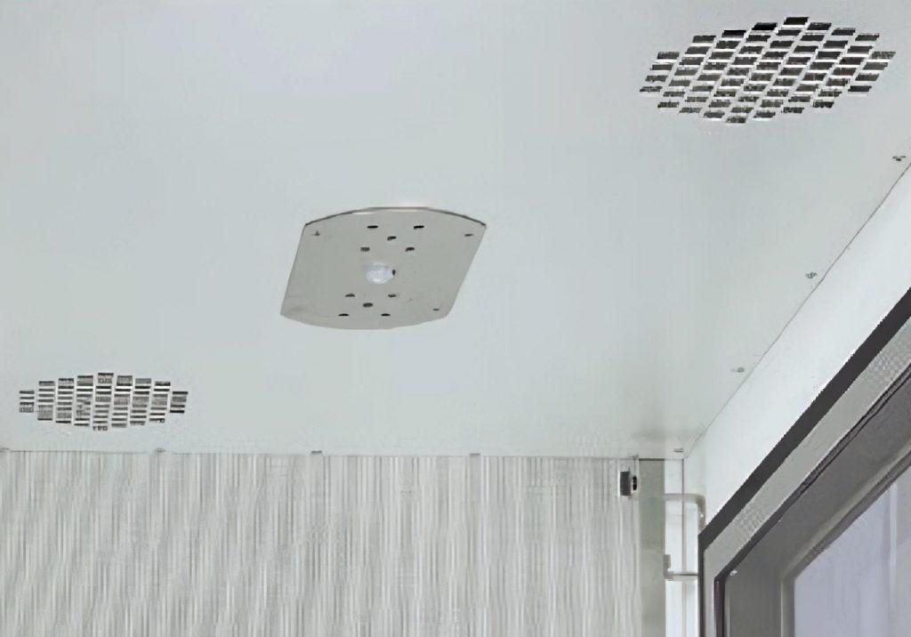 Потолок в шумозащитной кабине IAC МАКСИ 350