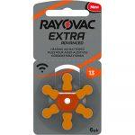 Батарейки Rayovac Extra 13