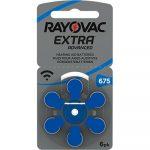Батарейки Rayovac Extra 675