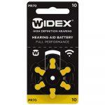 Батарейки Widex 10
