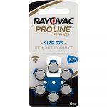 Батарейки Rayovac Proline 675